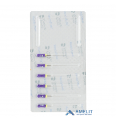 K-Файл READYSTEEL №10 (К-File READYSTEEL, Dentsply Sirona), 6шт./уп.