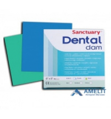 Платки для коффердама Dental Dams (Sanctuary), зеленые, 36шт./упак.