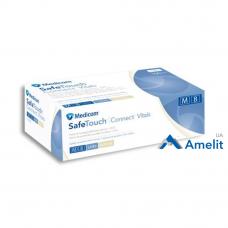 Перчатки латексные Safe-Touch, белые, размер «M» (Medicom), 50 пар/упак.