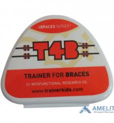 Трейнер ортодонтический T4B (Trainer T4B), для брекетов, 1шт.