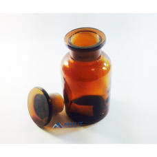 Флакон, широкое горло, темное стекло (Украина), 250мл
