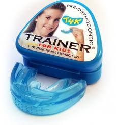 Трейнер преортодонтический T4K (Trainer T4K), мягкий, голубой, детский, 1шт.