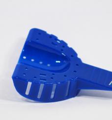 Ложка пластиковая оттискная, комплект: 1 шт. верх + 1 шт. низ