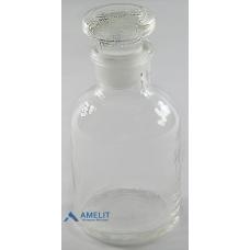 Флакон, узкое горло, прозрачное стекло (Украина), 60мл