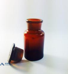 Флакон, широкое горло, темное стекло (Украина), 125мл