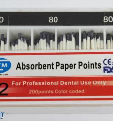Штифты бумажные 0.2 кон. (в ассортименте), 200шт./упак.